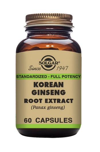 Solgar Korean Ginseng Root Extract 60 Capsules