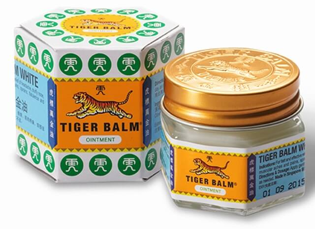 Tiger Balm White with Mint Oil 19g Joint and Bone Health > Tiger Balm