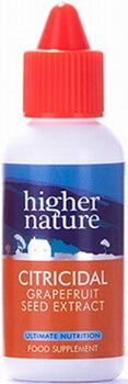 Higher Nature Citricidal Liquid 100ml Antioxidants > Citricidal liquid