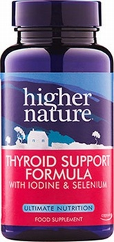 Higher Nature Thyroid Support Formula 60 Capsules Health Supplements > Thyroid Support Formula