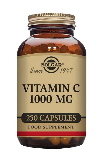 Solgar Vitamin C 1000 mg Vegetable 250 Capsules Vitamins > Vitamin C / Bioflavonoids