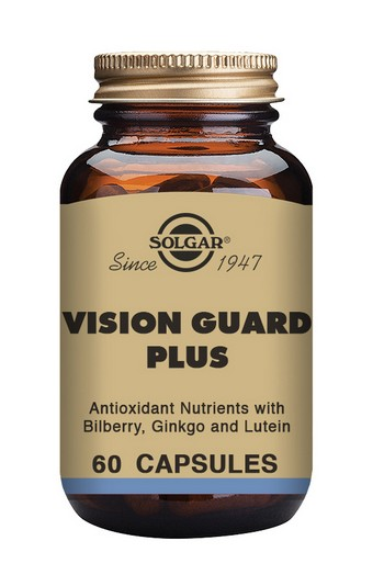 Solgar Vision Guard Plus Vegetable 60 Capsules