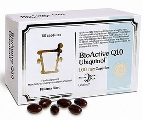 Pharma Nord BioActive Q10 Ubiquinol 100 mg 150 Capsules Health Supplements > Coenzyme Q10