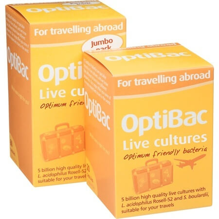 OptiBac Probiotics For Travelling Abroad 20 Capsules Digestive Aids > Travelling Abroad Probiotic