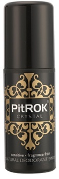 PitROK Crystal Natural Deodorant Spray 100ml