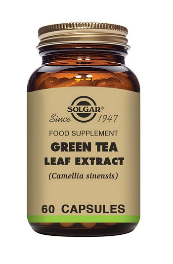 Solgar Green Tea Leaf Extract 60 Vegetable Capsules Herbal Supplements > Green Tea