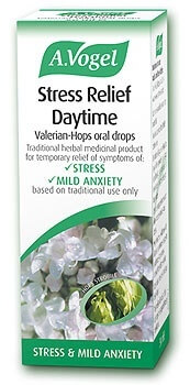 A Vogel Stress Relief Daytime 50ml Herbal Supplements > Stress Relief Daytime