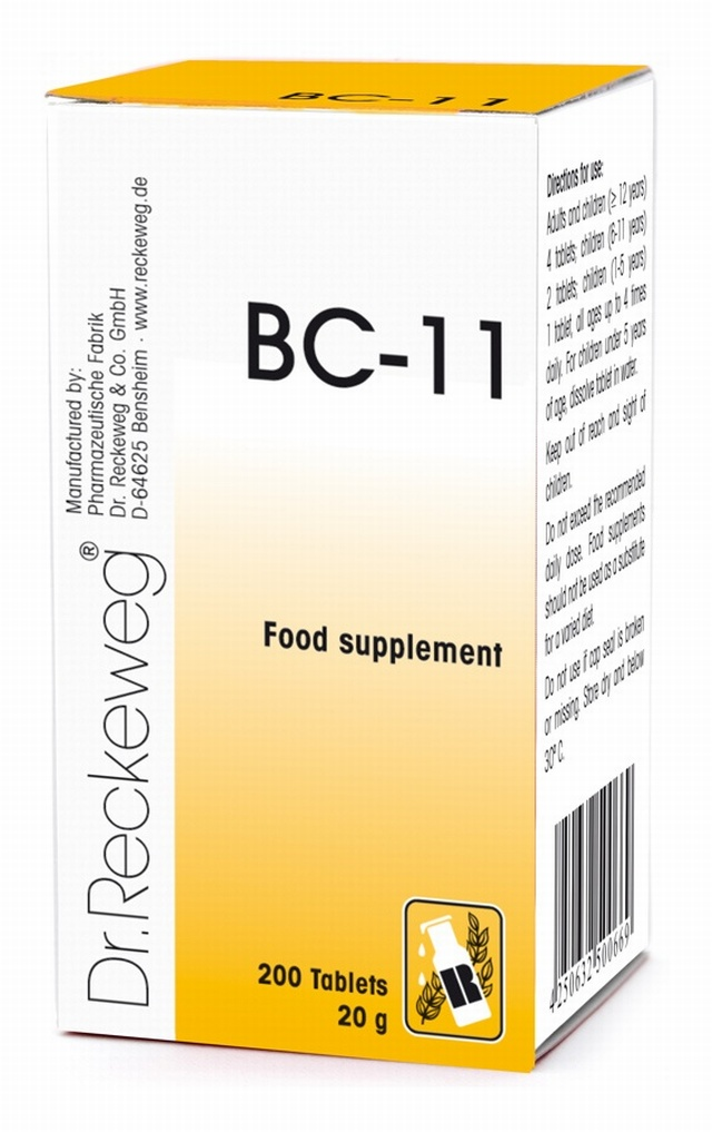 Dr Reckeweg BC-11 200 Tablets - BULK OFFER!