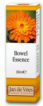 Jan de Vries Bowel Essence 30ml Bach Flower Remedies > Bowel Essence