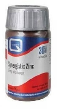 Quest Zinc with Copper 15mg 90 Tablets Minerals > Zinc