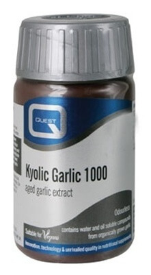 Quest Odourless Kyolic Garlic 1000 mg 45 Tabs - 50% EXTRA FREE