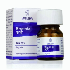 Weleda Bryonia Homeopathic Remedy 30C 125 Tablets