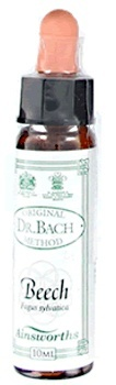 Ainsworth Beech Bach Flower Remedy 10ml Bach Flower Remedies > Beech: Intolerance; critical
