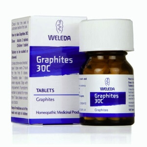 Weleda Graphites Homeopathic Remedy 30C 125 Tablets Homeopathic Remedies > Graphites: Dryness, eczema, catarrh