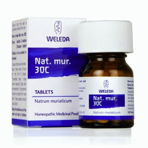 Weleda Nat Mur Homeopathic Remedy 30C 125 Tablets