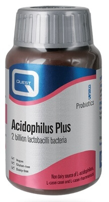 Quest Acidophilus Plus 36mg 180 Capsules Acidophilus > Quest Acidophilus Plus