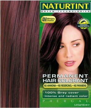 Naturtint® 4M Mahogany Chestnut 4.5floz Hair Colour & Dyes > 4M Mahogany Chestnut