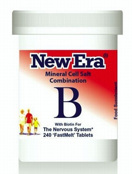 New Era Combination B 240 Tablets - BULK OFFER! New Era Tissue Salts > Combination B