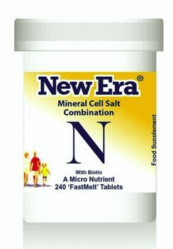 New Era Combination N 240 Tablets - BULK OFFER! New Era Tissue Salts > Combination N