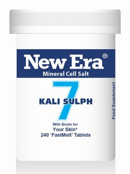 New Era Kali Sulph No. 7 240 Tablets - BULK OFFER! New Era Tissue Salts > Kali Sulph 7