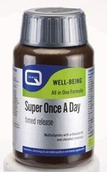 Quest Super Once A Day Timed Release Multivitamin 30 Tablets Multivitamins > Super Once A Day Timed Release