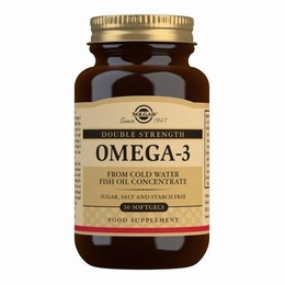 Solgar Omega-3 Double Strength 30 Softgels