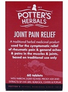 Potter's Joint Pain Relief (Tabritis) 60 Tablets