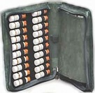 Ainsworth Complete Set of Dr Bach Flower Remedies in Canvas Wallet