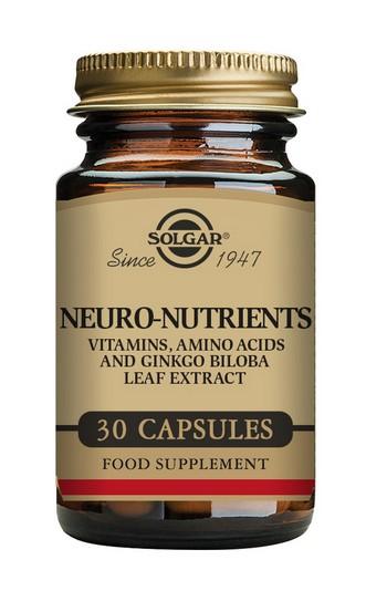 Solgar Neuro Nutrients 30 Capsules