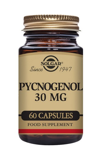 Solgar Pycnogenol 30  mg 60 Vegetable Capsules