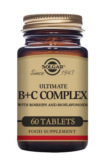 Solgar Ultimate B+C Complex 60 Tablets