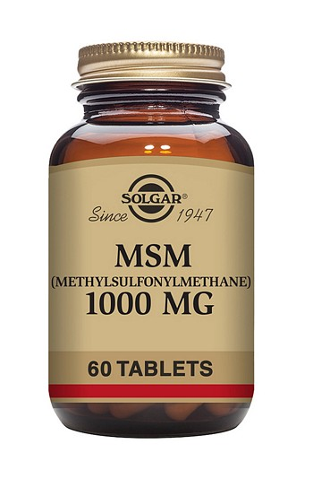 Solgar MSM 1000 mg 60 Tablets