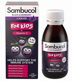 Sambucol Black Elderberry Liquid Extract Kids 120ml