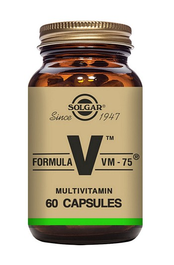 Solgar Vegan VM-75 Multivitamin 60 Vegetable Capsules