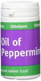 Obbekjaers Oil of Peppermint 150 tablets