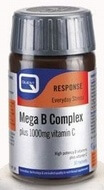 Quest Mega B Complex plus 1000 mg Vitamin C 60 Tablets