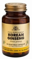 Solgar Korean Ginseng 50 Vegetable Capsules