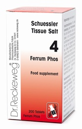 Schuessler Ferrum Phos No. 4 - 200 tablets - BULK OFFER!
