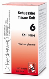 Schuessler Kali Phos No. 6 - 200 tablets - BULK OFFER!