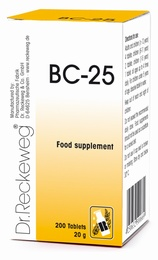 Dr Reckeweg BC-25 200 Tablets - BULK OFFER!