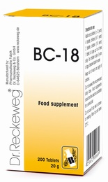 Dr Reckeweg BC-18 200 Tablets - BULK OFFER!