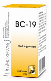 Dr Reckeweg BC-19 200 Tablets - BULK OFFER