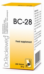 Dr Reckeweg BC-28 200 Tablets - BULK OFFER!
