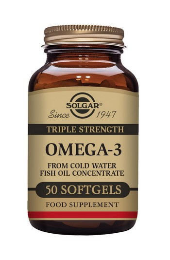 Solgar Triple Strength Omega-3 Fish Oil 100 Softgels
