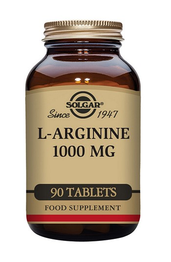 Solgar L-Arginine 1000 mg 90 Tablets