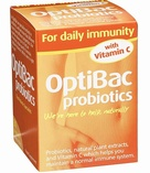 Optibac For daily immunity 30 vegetable capsules