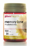 Power Health Memory Lane Phosphatidylserine 100 mg 30 Capsules