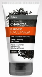 Optima Activated Charcoal Purifying Face Mask 125ml