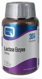 Quest Lactase Enzyme 200 mg 30 Tablets