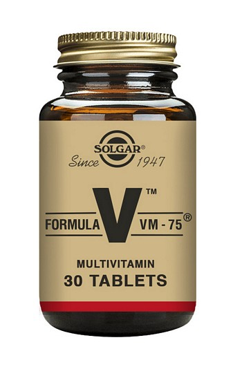 Solgar Formula VM-75 Multivitamin 30 Tablets